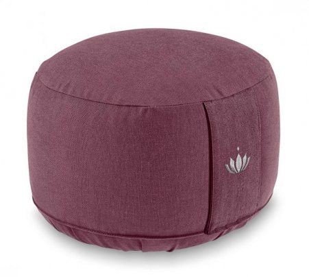 Cuscino Lotus Alto Bordeaux