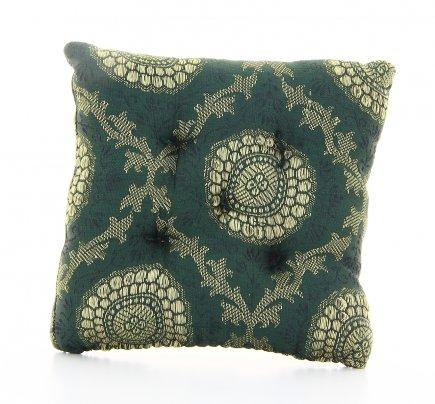 Cuscino per Campana Tibetana Verde Piccolo - cm 12