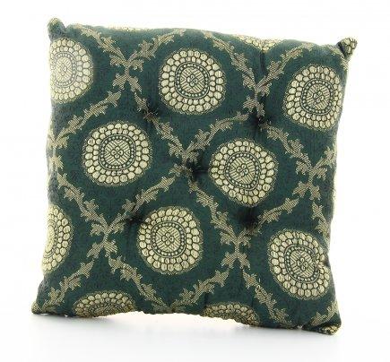 Cuscino per Campana Tibetana Verde Grande - cm 21