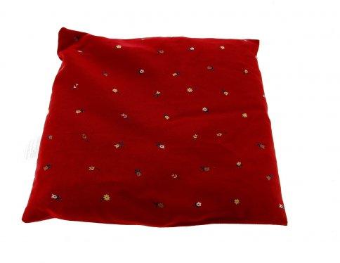 Cuscino con Noccioli di Ciliegia 24x24 cm.