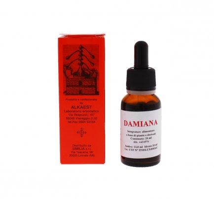 Damiana - Soluzione Idroalcolica