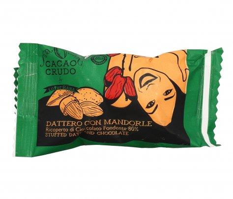 Dattero Medjoul con Mandorle e Cioccolato Fondente