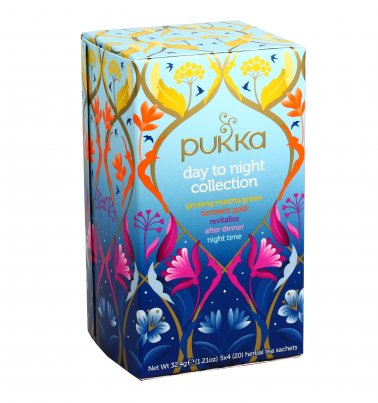 Tisane Pukka Day To Night Collection