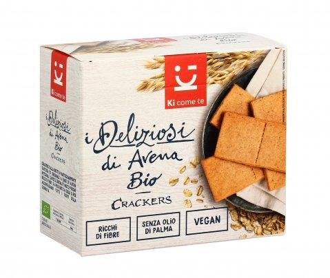 Crackers di Avena Bio - I Deliziosi