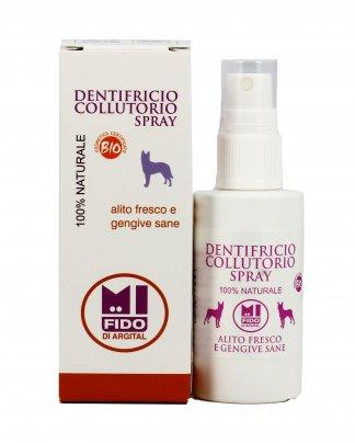 Dentifricio Collutorio Spray per Cani