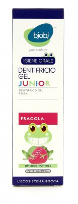 Dentifricio Gel Junior alla Fragola
