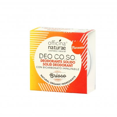 "Deodorante Solido Naturale ""Brioso"" - Co.so."