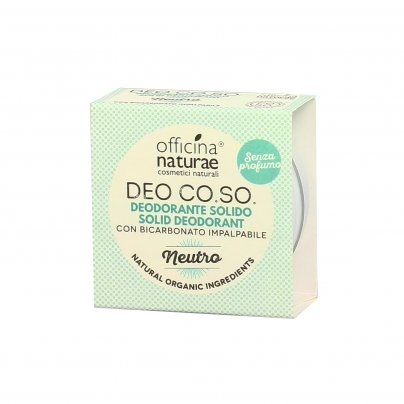 "Deodorante Solido Naturale ""Neutro"" (Senza Profumo) - Co.so."