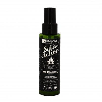 Bio Deodorante Spray per Uomo - Sativ Action