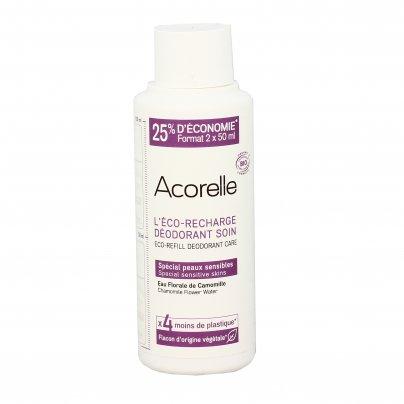 Deodorante Roll On per Pelli Sensibili - Acqua di Fiori di Camomilla Ricarica (100 ml)