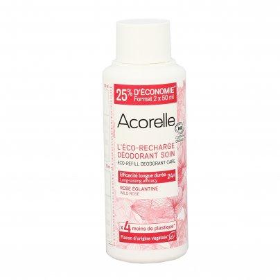 Deodorante Roll On con Rosa Selvatica Ricarica (100 ml)