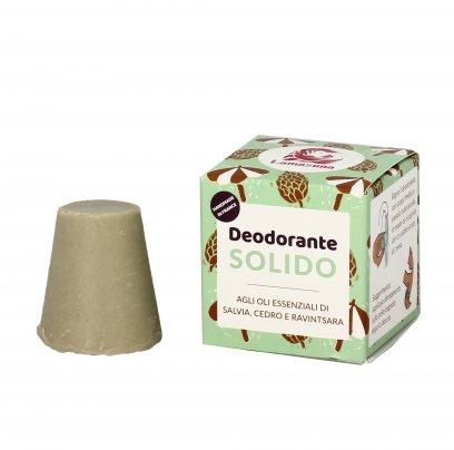 Deodorante Solido con Salvia, Cedro e Ravintsara