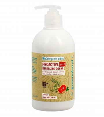 Bio Detergente Intimo Proactive Ph 4.0 Benessere Donna