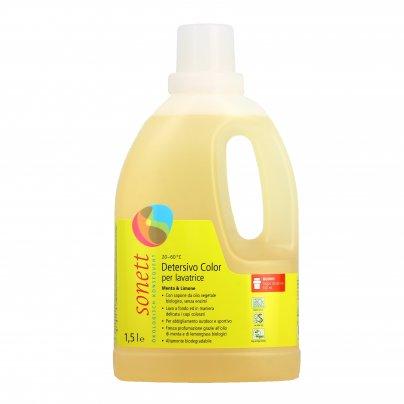 Detersivo Liquido per Capi Colorati (Lavatrice) - Menta e Limone