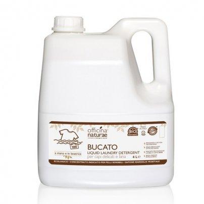 Detersivo Ecologico per Bucato, a Mano ed in Lavatrice. 4 litri