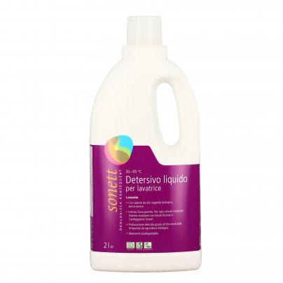 Detersivo Liquido per Lavatrice Ecologico alla Lavanda 2 Litri
