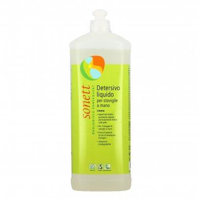 Detersivo Liquido per Piatti e Stoviglie a Mano al Limone 1000 ml