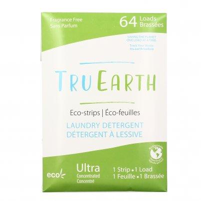Detersivo Ecologico in Strisce per Lavatrice - Senza Profumo 64 Dosi