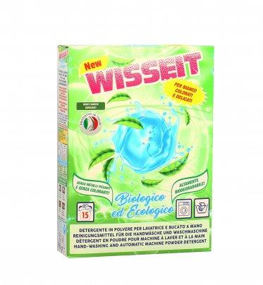 Detergente Bucato in Polvere Bio ed Ecologico Wisseit 15 Lavaggi (700 gr.)