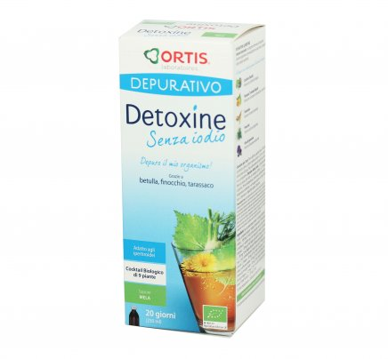 Detoxine alla Mela - Senza Iodio