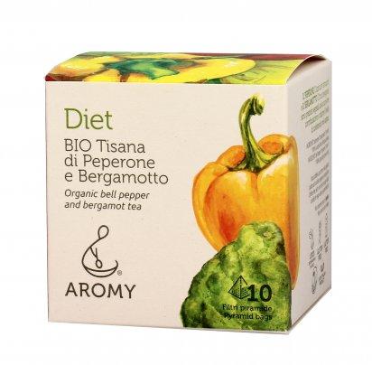 Tisana di Peperone e Bergamotto Bio - Diet