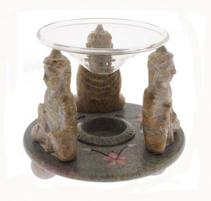 Diffusore in Pietra Modello Divinità - Buddha