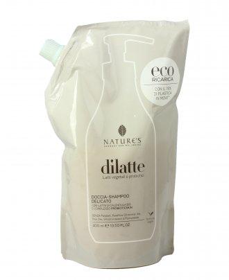 Doccia Shampoo Delicato - Dilatte Eco-Ricarica (400 ml)