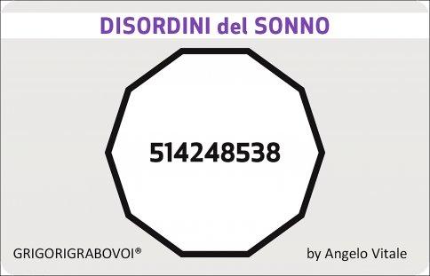 Tessera Radionica 47 - Disordini del Sonno