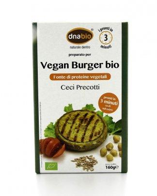 Vegan Burger Bio - Ceci e Semi di Girasole