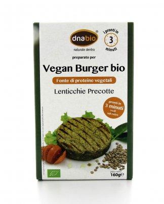Vegan Burger Bio - Lenticchie e Semi di Sesamo