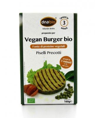 Vegan Burger Bio - Piselli e Spezie