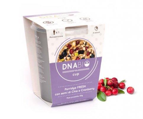 Porridge Fresh con Semi di Chia e Cranberry - Cup