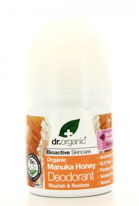 Deodorante Roll On Organic - Manuka Honey (SCHEDA DOPPIA)
