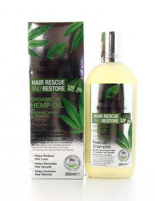 Shampoo Riparatore all'Olio di Semi di Canapa