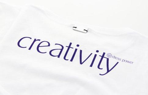 Dress Power T-Shirt - Creativity Donna Taglia: M - Maniche Lunghe