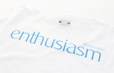 Dress Power T-Shirt - Enthusiasm Donna Taglia M - Maniche Lunghe