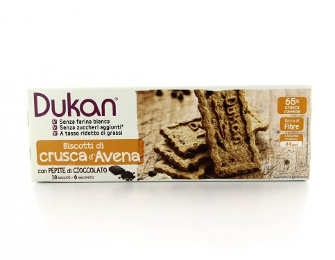 Biscotti di Crusca d'Avena - Pepite di Cioccolato