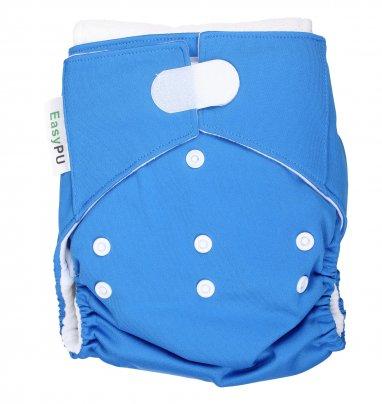 Pannolino Lavabile Ecologico Easy Pu Blu