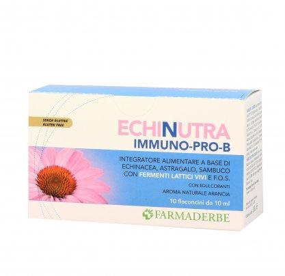Echinutra Immuno Pro-B - Integratore con Echinacea e Fermenti Lattici