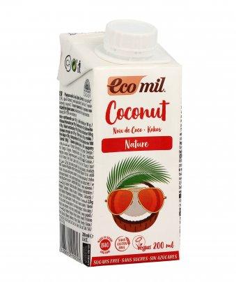 Latte di Cocco Senza Zucchero 200 ml (con cannuccia)
