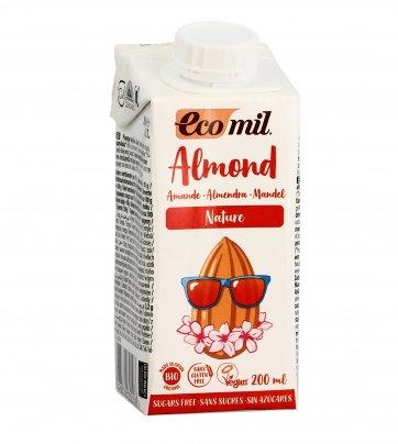 Bevanda Vegetale di Mandorla Senza Zucchero 200 ml