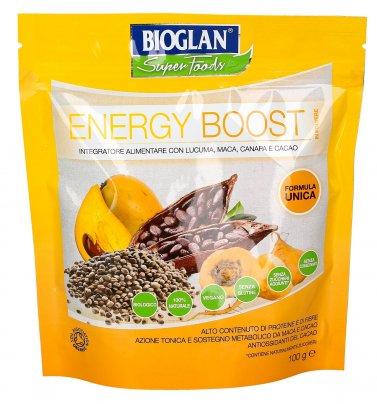 Energy Boost in Polvere - Integratore alimentare con Lucuma, Maca, Canapa e Cacao