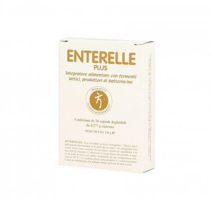 Enterelle Plus - Fermenti Lattici 24 capsule (9,0 g)