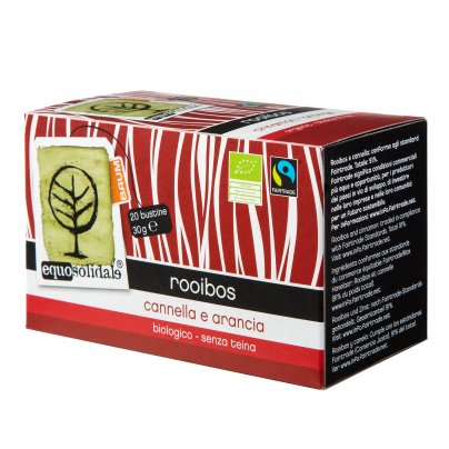 Rooibos - Arancia e Cannella Bio