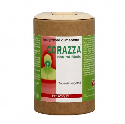 Vitamina C in Capsule Corazza Natural-Biotic - Difese Immunitarie