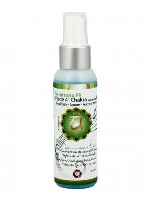 Essenza con Suoni Verde 4° Chakra - Semitono F 60 ml