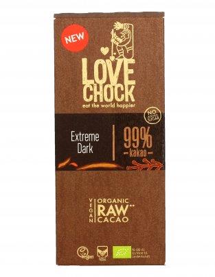 Tavoletta Cacao Raw 99% Extreme Dark