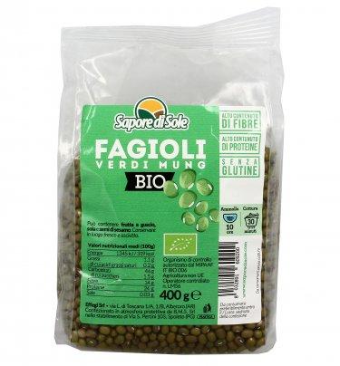 Fagioli Verdi Mung Biologici