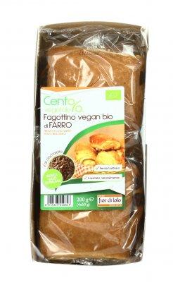 Fagottino Vegan Bio di Farro al Cioccolato