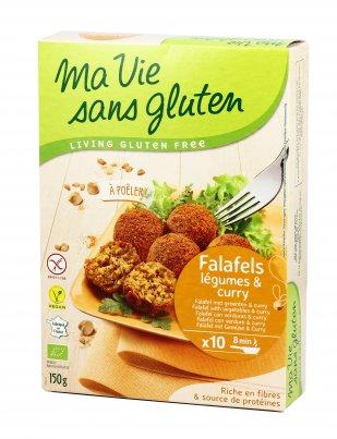 Falafel Bio con Verdure e Curry - Senza Glutine